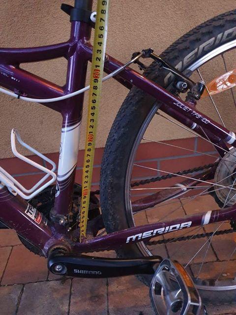 Ez a kerékpár nagyon kicsi méretű